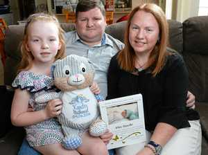 He lived only minutes: Family's precious moments with baby
