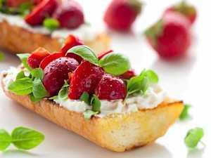 Bruschetta, tasty however you pronounce it
