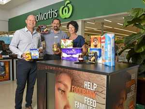 Donate non-perishable items to help fight hunger in Qld