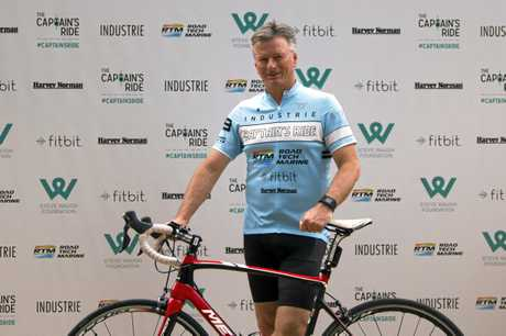 Former Australian cricket captain Steve Waugh asked Mark Knowles to take part in his Captain's Ride.
