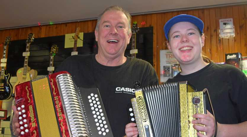 FUN TRADITION: Richard and Ailee O'Shea are gearing up for the 40th annual Maclagan Squeezebox Festival.