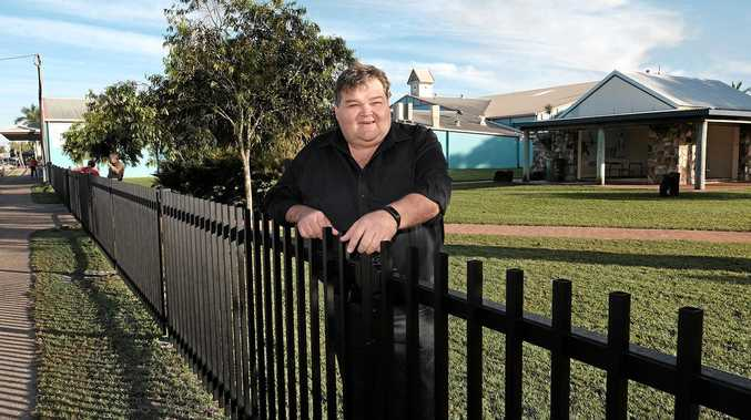 SHOP LOCAL: Cr John Collins urged Whitsunday residents to shop local and save small businesses in the region.