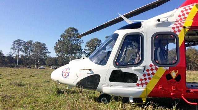 FOUND: The Westpac Lifesaver Rescue Helicopter was involved in the search for a missing 84-year-old man.