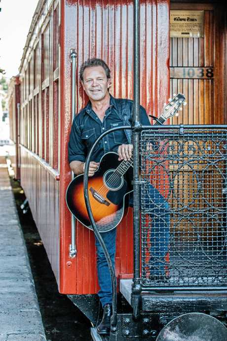 Troy Cassar-Daley is this year's Gympie Music Muster Ambassador. Supplied by Sue Mac Media.