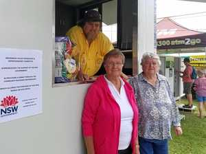Brunswick Valley Woodchop mobile office unveiled at markets