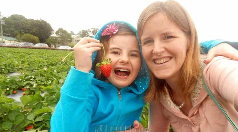 HEARTBREAKING: Mel Scott with her daughter Jade.