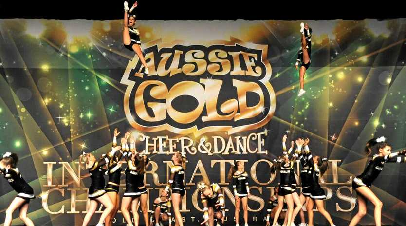 Adrenalin Cheer's Dreamers Cheer squad were crowned grand Champions at the Aussie Gold International Championships to qualify to represent Australia in Hawaii.