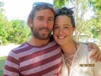 James Tate and his wife Bec.