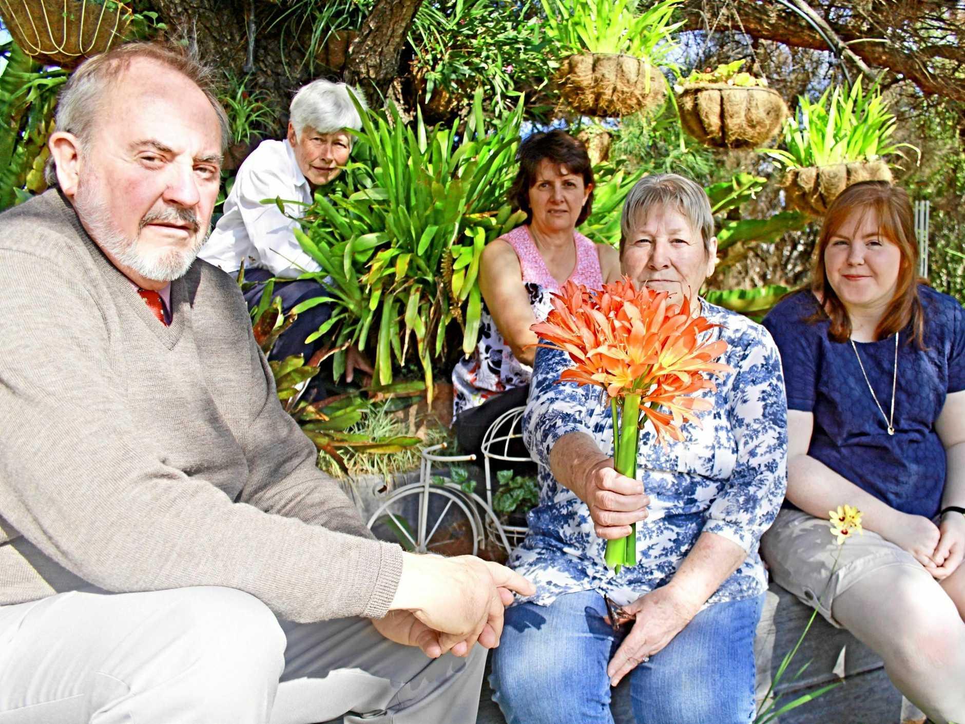 Ian Jackson, Roberta Smith, Fay Rickard, Gina Marino and Elspeth Jackson talk Gardenfest ahead of the plant extravaganza's opening tomorrow.