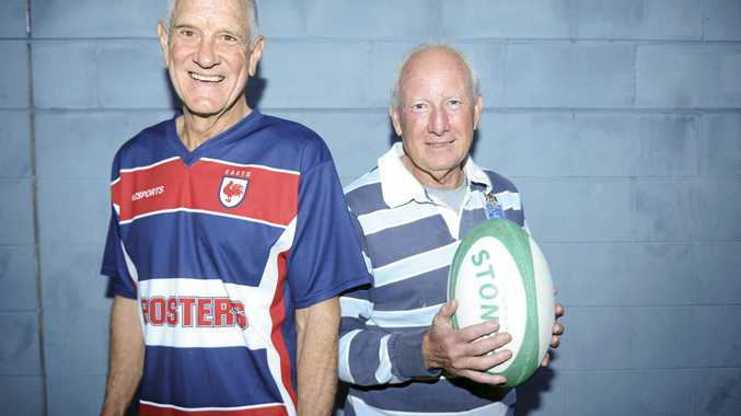 Grafton touch footballers Peter Lake and Steve Llewellyn are in New Zealand this weekend for the National Touch Rugby Australia Masters Trans Tasman Series against New Zealand.