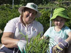 'Grandfamily' team up for gardening challenge
