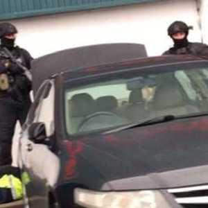 Heavily armed tactical cops swoop on suburban Bunnings