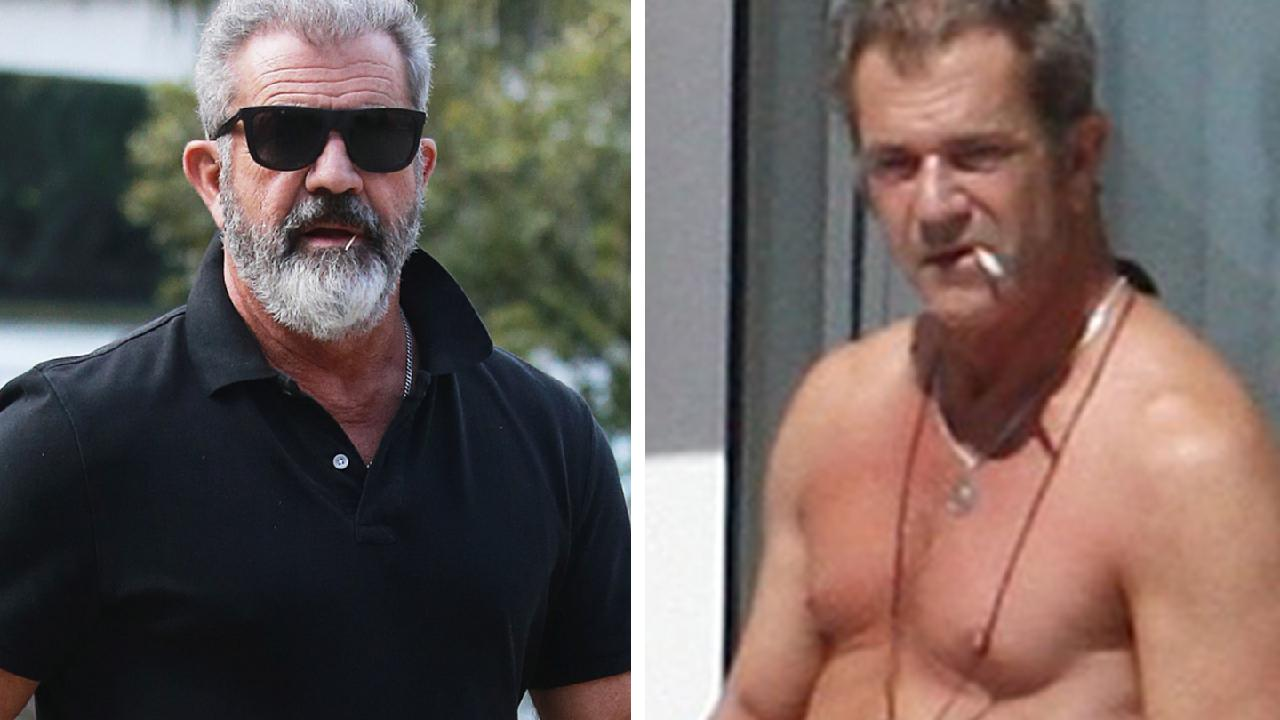 Mel Gibson has been working hard to drop this kilos. (AAP Image/Claudia Baxter)