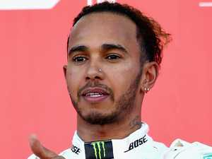 Hamilton's classy gesture to bitter rival