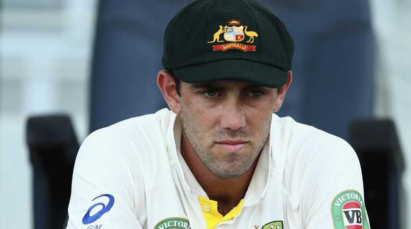 Glenn Maxwell's omission from the Test team has been questioned.