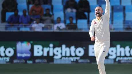 Nathan Lyon surpassed legendary West Indies offie Lance Gibbes.