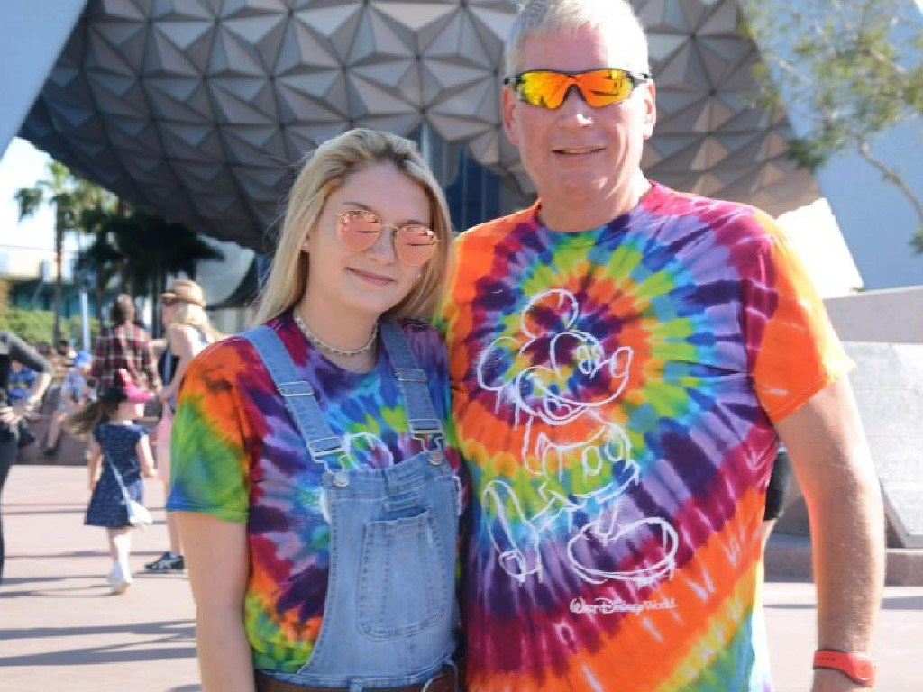 Chelsea McCullough, 21, and William Maynard, 55. Picture: Supplied