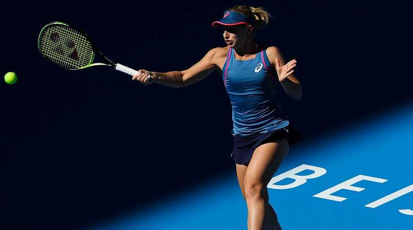 Daria Gavrilova has a lot of rankings points to protect in Hong Kong. Picture: Getty.