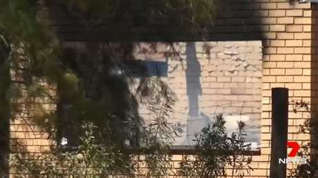 Police had serious concerns for two women and two young boys missing after a house burnt down in an alleged domestic violence incident in Ootha near Condobolin, NSW. Picture: Channel 7