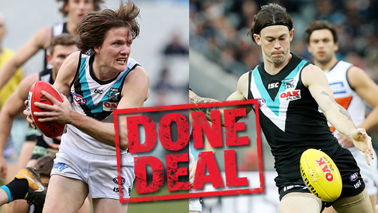 Port pair Jared Polec and Jasper Pittard will join the Kangas.