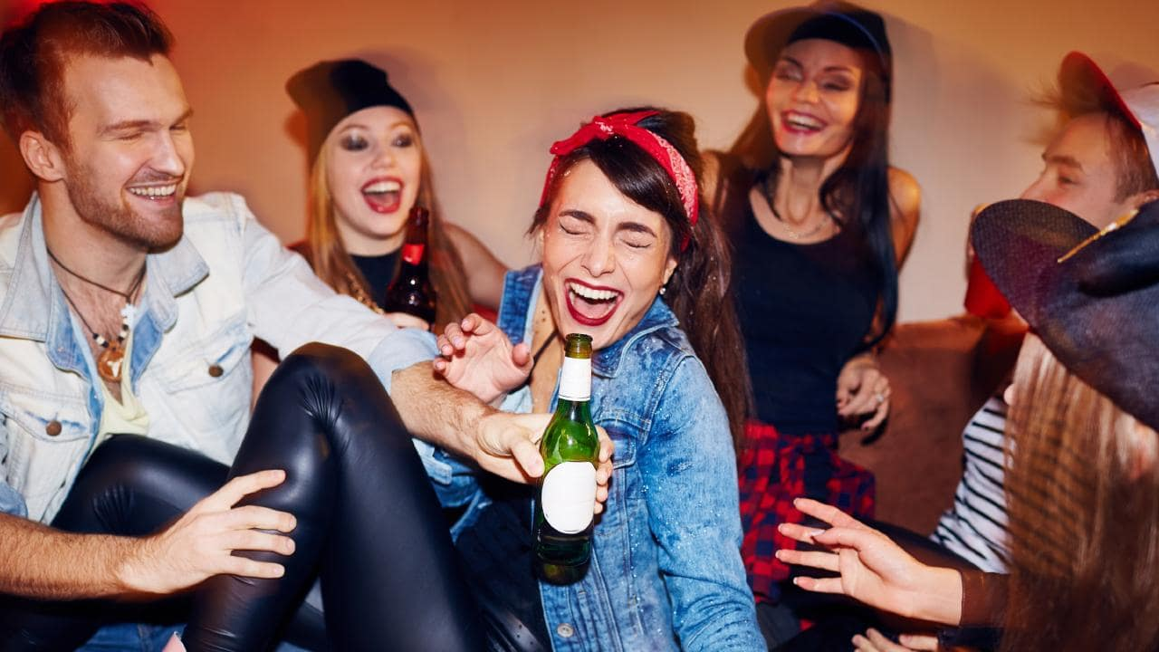 Even teenagers know how to look after each other. Picture: iStock