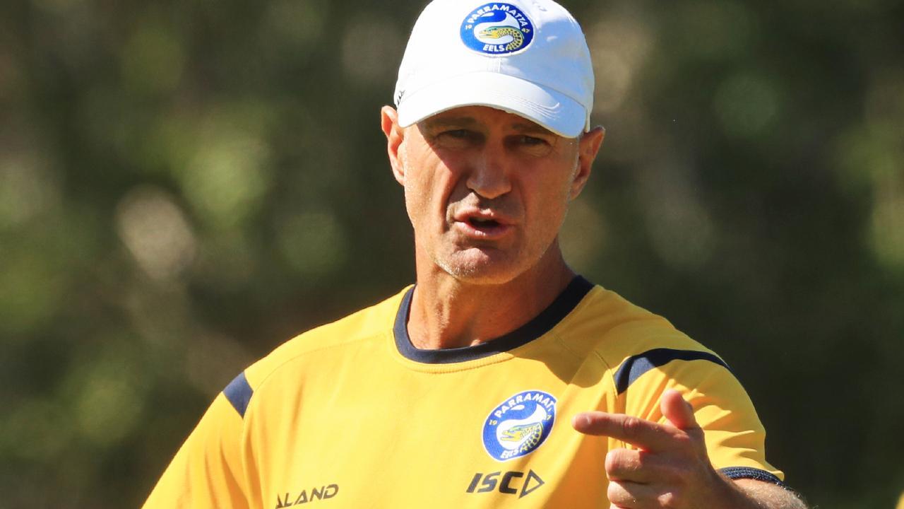 Brad Arthur will be given the backing to rebuild Parramatta. (Jenny Evans)
