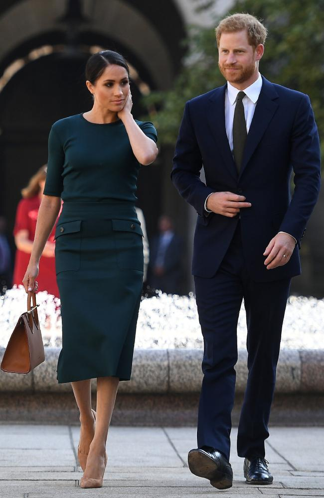 The style queen showed her impeccable taste during her trip to Ireland. Picture:  Clodagh Kilcoyne/Getty Images