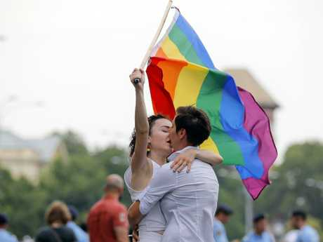 Gay teachers and students are under threat from a proposed law change. Picture: AP