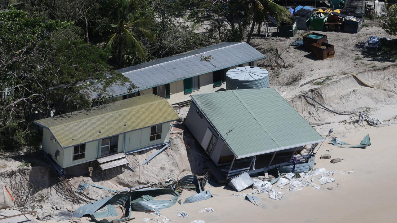 The sale of the lease of Great Keppel Island paves the way for its redevelopment following cyclone damage and its closure a decade ago. Picture: Peter Wallis
