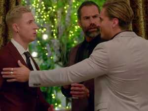 GLOVES ARE OFF: Bachelorette boys let fly in petty bust-up