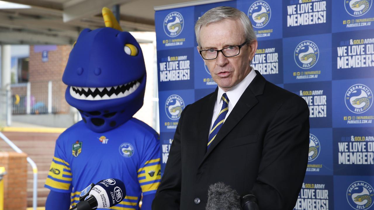 Parramatta CEO Bernie Gurr wants a brand new Parramatta.