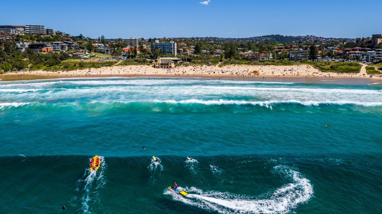 Freshwater is one of NSW's most popular suburbs for buyers. Picture: Tom Watson/Droner