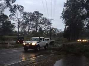 Storm damage in Maryborough West
