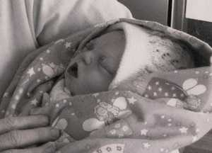 Annabelle Dillon was stillborn in 2005.