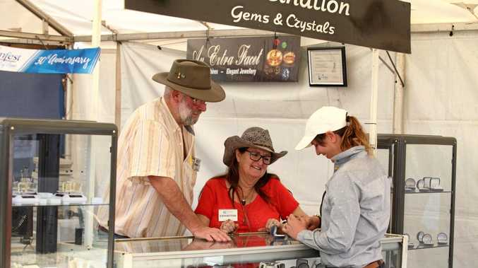 TOURISM: Central Highland's Gemfest is just one of the annual events that entice visitors to the region.