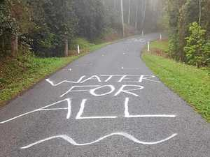 Graffiti on Rowlands Creek Rd