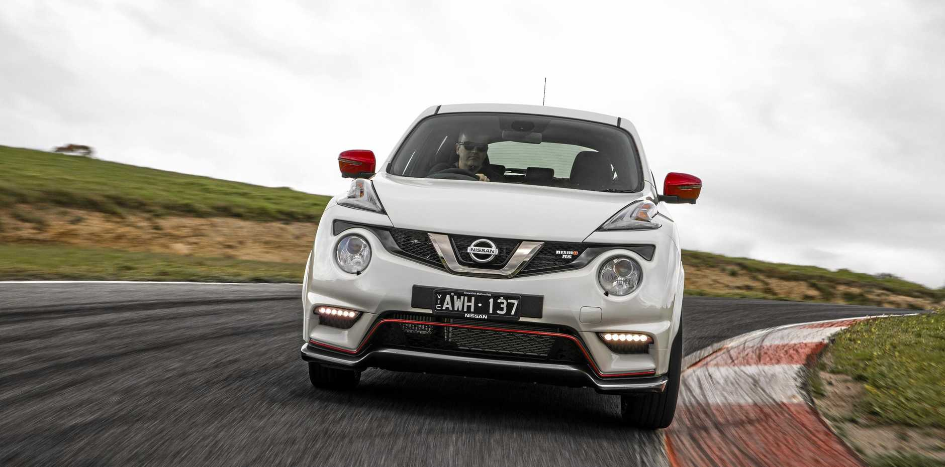 The Nissan Juke NISMO RS is part of a refreshed line-up for 2018.
