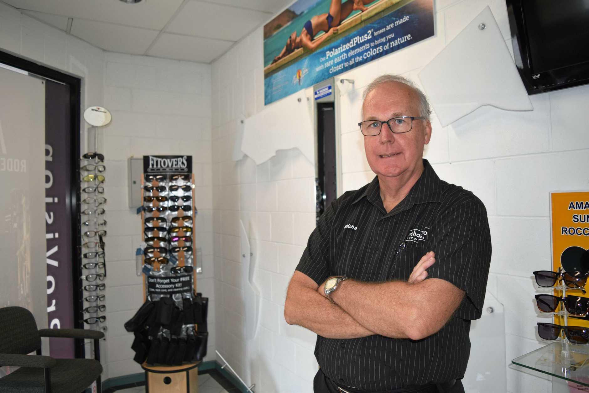 OPTOMETRIST THEFT: Thousands of dollars stolen from Richard Watt Optometrist during an overnight burglary has left the owner, Richard Watt, devastated.