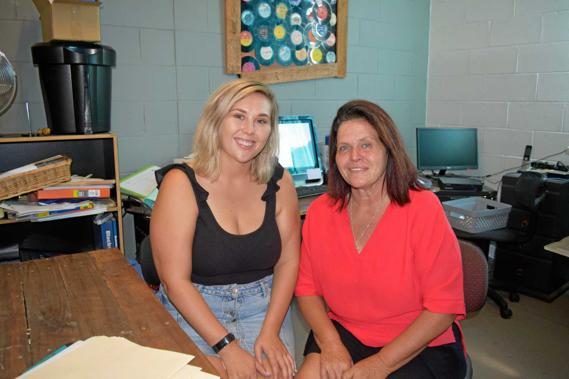 REAL ANGELS: Jasmine and Sue Tasker of Angels Community Group are holding a free program to help young adults age 15-19 gain a qualification.