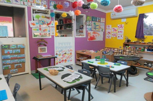 BRIGHT IDEAS: The colourful play and education spaces at the Murgon Childcare & Learning Centre.