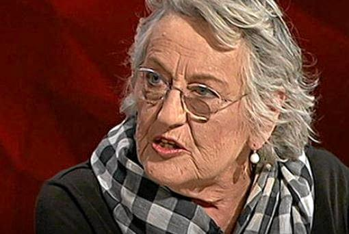 POLEMIC: Germaine Greer talks on Q&A.