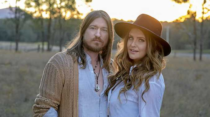 COUNTRY STARS: Adam Eckersley and Brooke McClymont