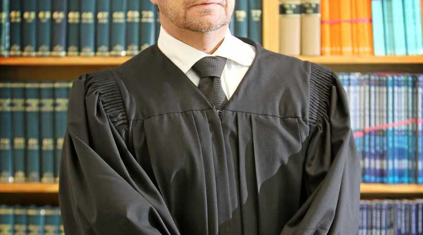 SPEAKING UP: Magistrate Cam eron Press.