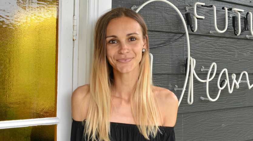 Byron Bay's Bianca Hill is bravely sharing her battle with anorexia at her first Clarity group ~ Eating Disorder Recovery and Body Positive Monthly Gathering on Monday night in Byron Bay on Monday night.