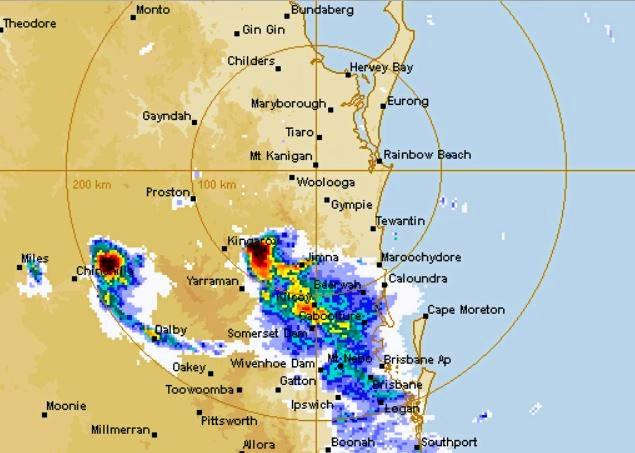 A dangerous storm front is once again threatening the Noosa region.