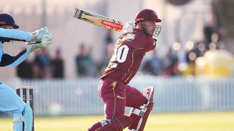 Playing his first List A cricket for Queensland since 2014, Chris Lynn made up for lost time and finished as the tournament's top run-scorer.