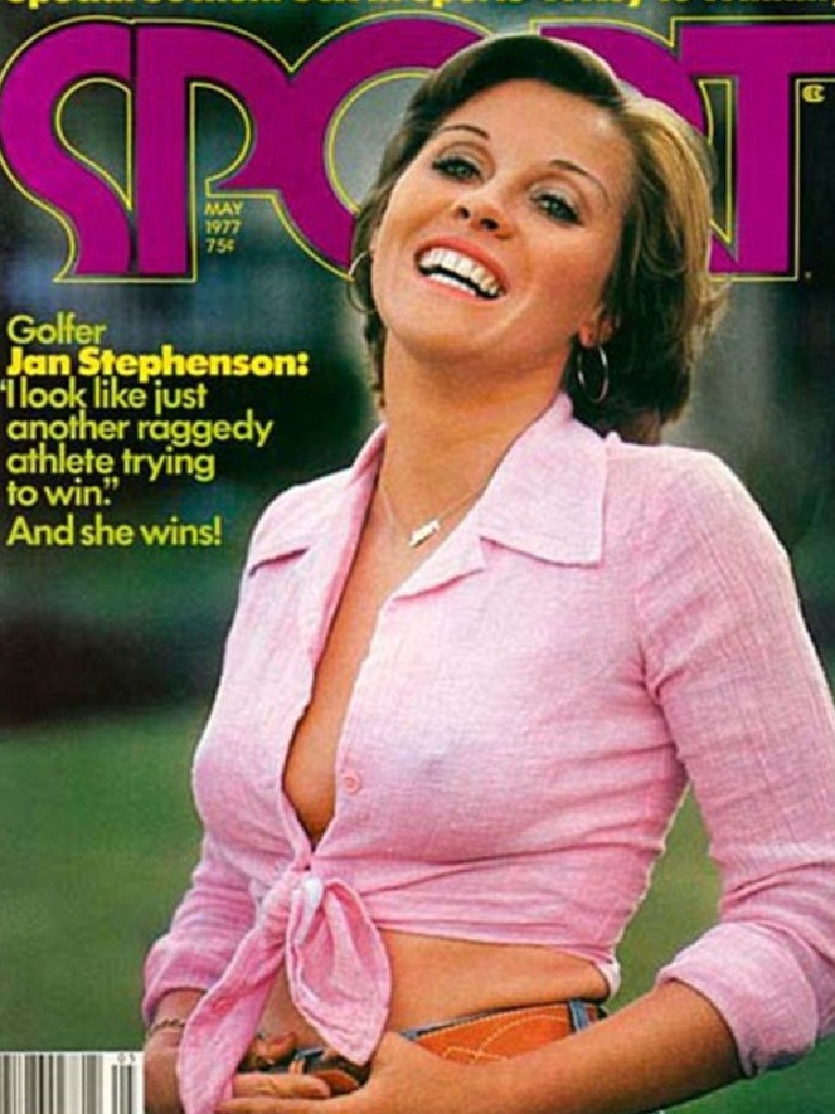Jn Stephenson on a magazine cover in 1977.