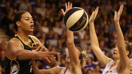 The departure of Liz Cambage from the Melbourne Boomers will provide opportunity for the team's host of young talent. Picture: Getty Images