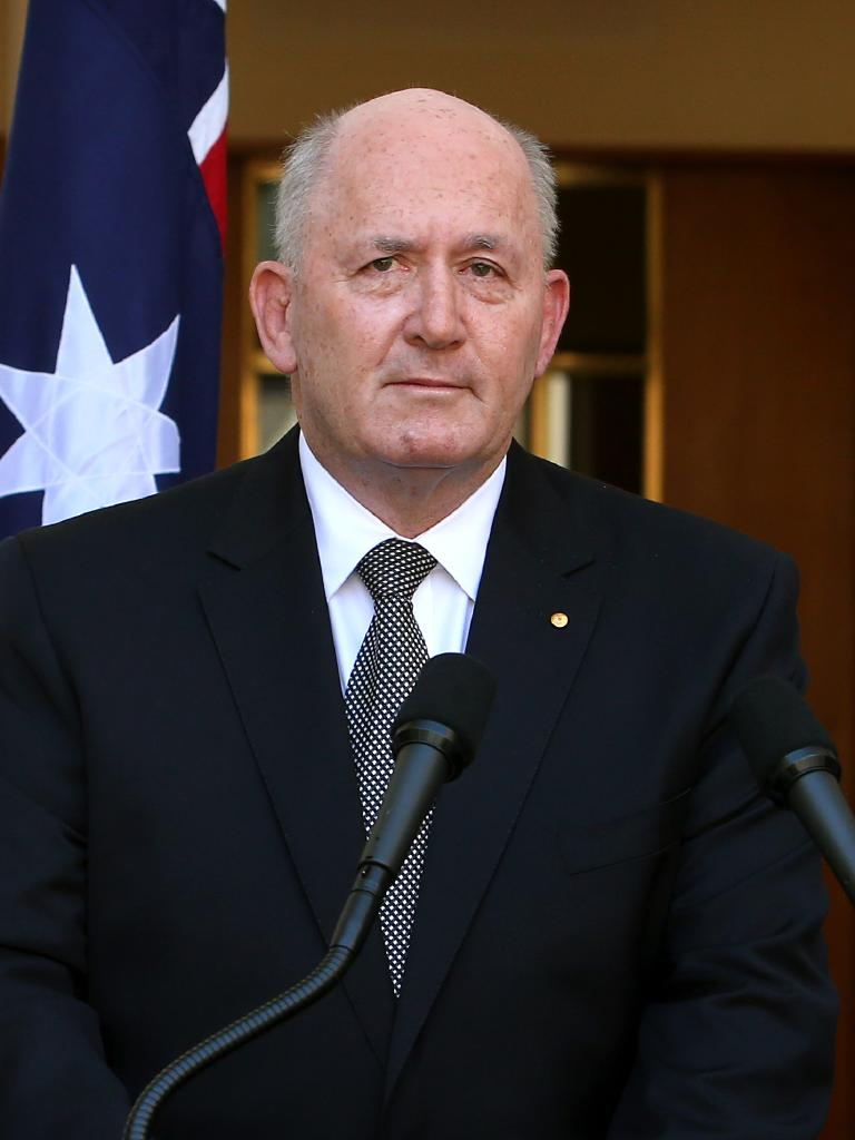 Peter Cosgrove was appointed Governor-General in 2014.