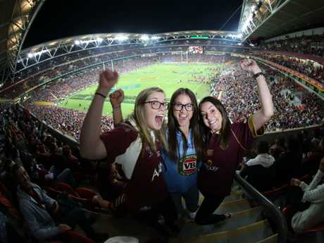 Nothing compares to a State of Origin at Suncorp Stadium.